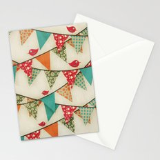 Home Birds 'N' Bunting. Stationery Cards