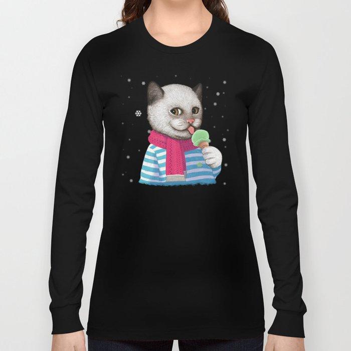 Ice cream & Snow Long Sleeve T-shirt