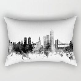 Oslo Norway Skyline Rectangular Pillow