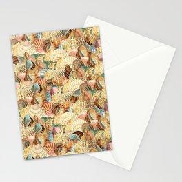 Sea shells pattern 2 Stationery Cards