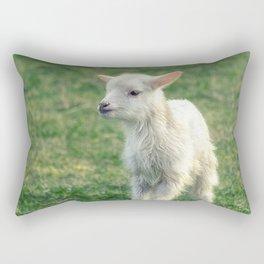 Baby Lamb Rectangular Pillow