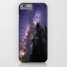 Celestial Starlight in the Forest Near  Lake Irene Colorado by OLena Art - brand iPhone Case