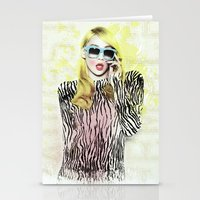 2ne1 Stationery Cards featuring 2NE1 - CL (BAZAAR) by Margot Park