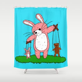 Marionettes Shower Curtain