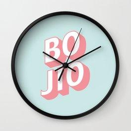 BO JIO Wall Clock