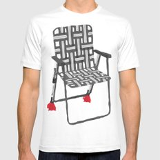 rocket launcher (rocket lawnchair). Mens Fitted Tee White MEDIUM