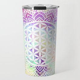 Flower Of Life (Batik 13) Travel Mug