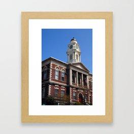 Irvington Town Hall, Irvington NY Framed Art Print