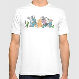 Where the Temple Bosses Are T-shirt