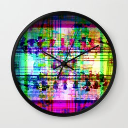 Did resistence become institutional space renting? [RGB] Wall Clock