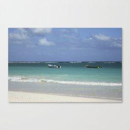 Carribean sea 12 Canvas Print