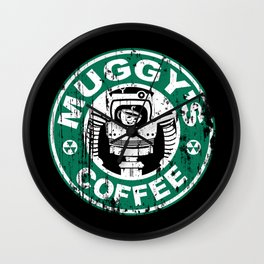 Muggy's Coffee Wall Clock