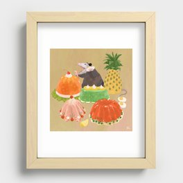 Dinner Party Guest Recessed Framed Print