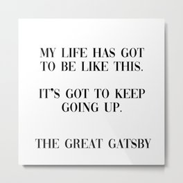 the great gatsby Metal Print