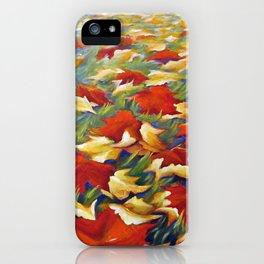 Luxury of Fall iPhone Case