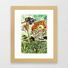 the Jungle book Framed Art Print