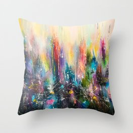 MAGIC CITY Throw Pillow