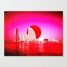 Modern Japan - Yokohama Canvas Print