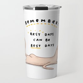 Honest Blob - Rest Days Travel Mug