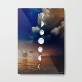 Moon phases #2 Metal Print