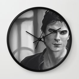 Big Bad Vampire Wall Clock