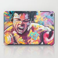ali iPad Cases featuring Ali by somanypossibilities