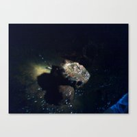 metal Canvas Prints featuring Metal by R.S.Burrell