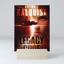 Legacy Code Book Cover Print Mini Art Print