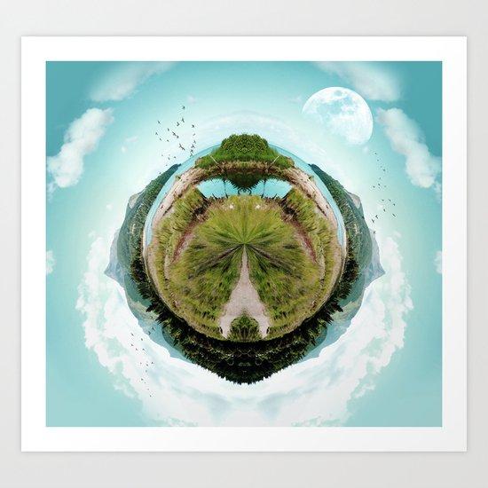 Nano Isle Art Print