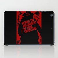 bane iPad Cases featuring Quote Bane by Maxvtis