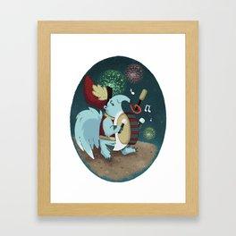 Drumline Framed Art Print