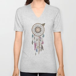 Lakota (Dream Catcher) Unisex V-Neck