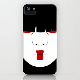 Modern Geisha #2 iPhone Case