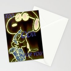Too Cool Snoopy Stationery Cards