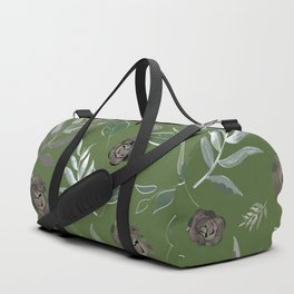 Simple and stylized flowers 15 Duffle Bag