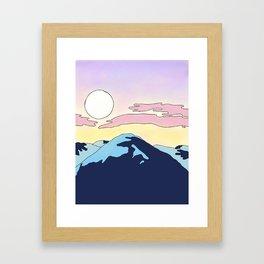 Mauna Kea Framed Art Print