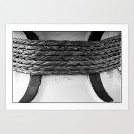 Rope Trick Art Print