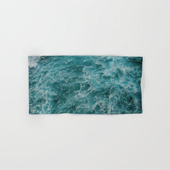 faded waves Hand & Bath Towel
