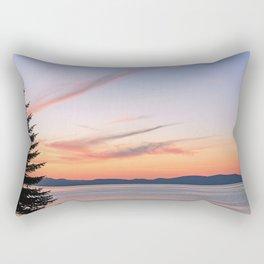 Tahoe Sunset Rectangular Pillow