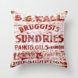 Sundries Throw Pillow