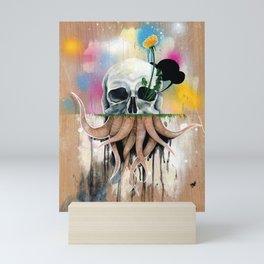 Skull Roots Mini Art Print