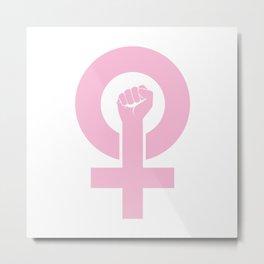 Women's Symbol-Resist Metal Print
