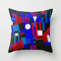 Lego: Abstract Throw Pillow