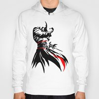 assassins creed Hoodies featuring Assassins Creed  by iankingart