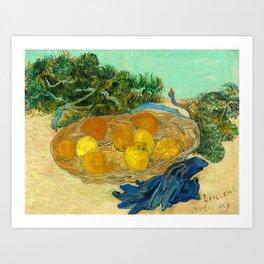 Van Gogh Still Life with Lemons and Oranges Art Print