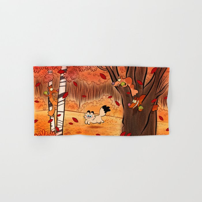 automne Hand & Bath Towel