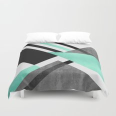 Foldings Duvet Cover
