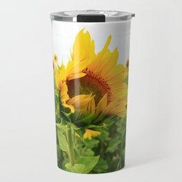 Sonnenblumen 4 Travel Mug