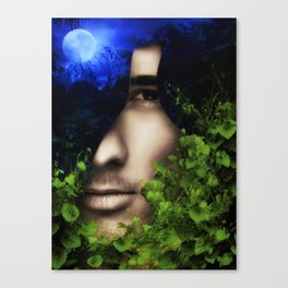 When He looked into Paradise - It was Midnight Fx  Canvas Print