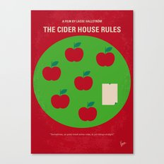 No807 My The Cider House rules minimal movie poster Canvas Print
